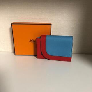 Hermes - エルメス HERMES 財布 カマイユ ミニ 美品