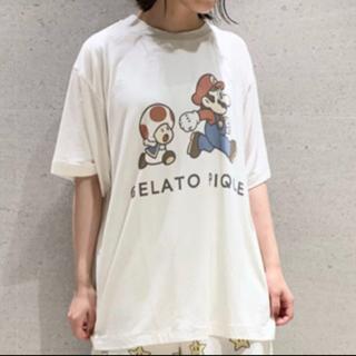 gelato pique - レア 即完売 【スーパーマリオ 限定商品】【UNISEX】キャラクターTシャツ