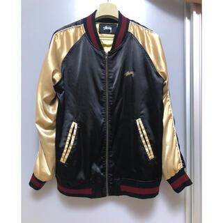 ステューシー(STUSSY)の35周年 UO×Stussy Satin Souvenir Jacket(スカジャン)