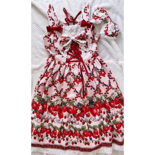 BABY,THE STARS SHINE BRIGHT - strawberry  garden ジャンパースカート
