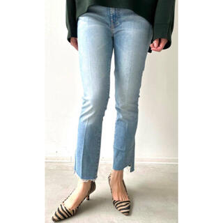 L'Appartement DEUXIEME CLASSE - 【MOTHER/マザー】THE INSIDER CROP STEP FRAY