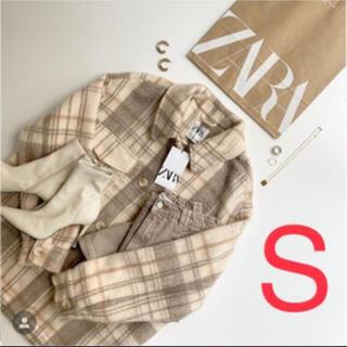 ZARA - ザラ  ZARA チェック柄オーバーシャツ チェックシャツ 新品・未使用