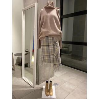 ルシェルブルー(LE CIEL BLEU)のルシェルブルー♡アイレネフリンジスカート♡(ひざ丈スカート)