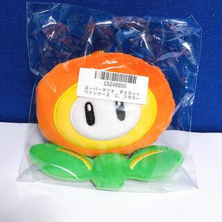 ニンテンドウ(任天堂)のスーパーマリオ フラワー ダイカットコインケース ポーチ(コインケース)