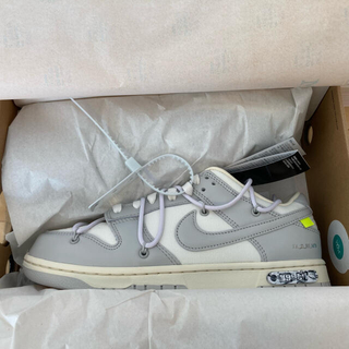 NIKE - NIKE off-white dunk low 1 of 50 Lot 49