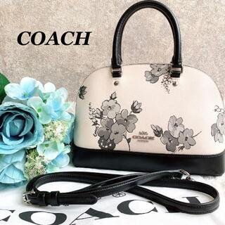 COACH - 美品♡希少 コーチ ミニシエラサッチェル ハンドバッグ 花柄 F73718
