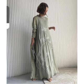 Ameri VINTAGE - Ameri Vintage 2WAY FLOWER GARDEN DRESS