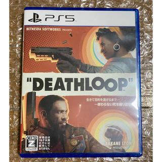 プレイステーション(PlayStation)のPS5 デスループ DEATHLOOP 初回特典付(家庭用ゲームソフト)