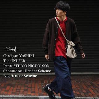 コモリ(COMOLI)のYASHIKI / Komogake Cardigan(BROWN) サイズ 2(カーディガン)