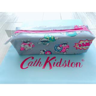 キャスキッドソン(Cath Kidston)の【新品未使用】キャスキッドソン ペンシルケース スーパードッグ(ポーチ)