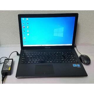 ASUS - ASUS ノートパソコン Windows10 エクセル ワード DVDマルチ