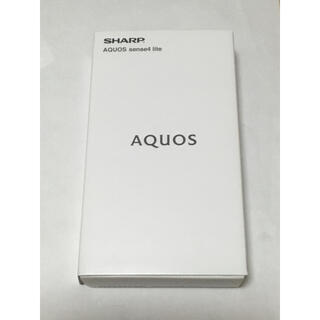 SHARP - SHARP AQUOS sense4 lite 楽天版SIMフリー ケース付