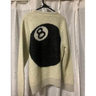 STUSSY - Stussy 8ball mohair sweater