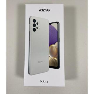 Galaxy - 【未開封】Galaxy a32 5G ホワイト