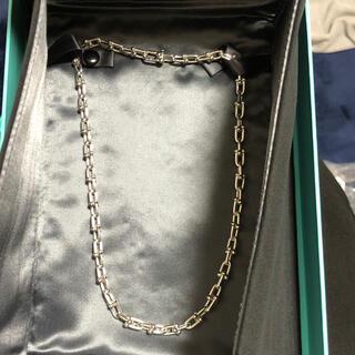 ティファニー(Tiffany & Co.)のティファニーグラジュエイテッド リンクネックレス(ネックレス)