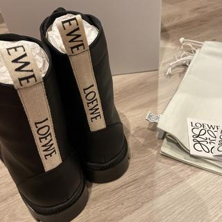 LOEWE - 2021FW loewe カーフスキン ブーツ 41 26.5cm