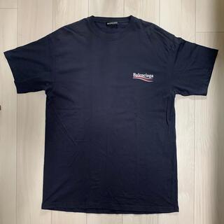 Balenciaga - 【美品】バレンシアガ キャンペーンロゴ Tシャツ 正規品