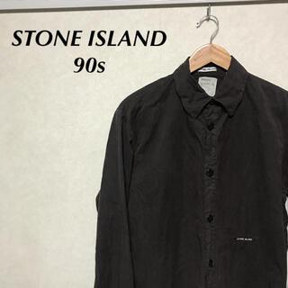 STONE ISLAND - 【Archive】 STONE ISLAND 90s garment dyed