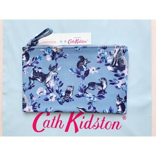 キャスキッドソン(Cath Kidston)の【新品未使用】キャスキッドソン ジップパース ミニバッジャーズ&フレンズ(ポーチ)