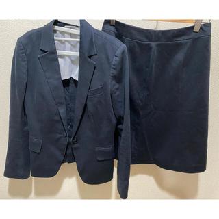 スーツカンパニー(THE SUIT COMPANY)のレディース 紺色スーツ上下セット スーツカンパニー(スーツ)