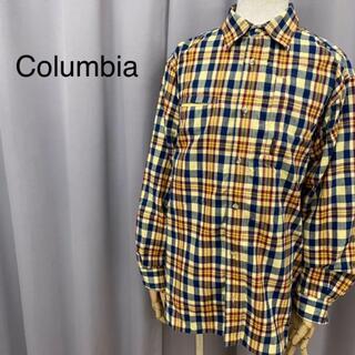 コロンビア(Columbia)のColumbia コロンビア 長袖シャツ チェックシャツ(シャツ/ブラウス(長袖/七分))