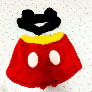 ディズニー(Disney)のミッキー コスチューム80~90(パンツ/スパッツ)