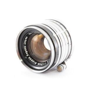 Nikon NIKKOR-H・C 5cm F2 ライカ Lマウント 黒帯(レンズ(単焦点))