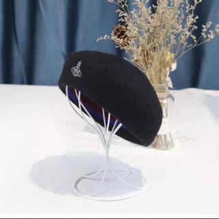 Vivienne Westwood - ヴィヴィアンウエストウッド ベレー帽 黒