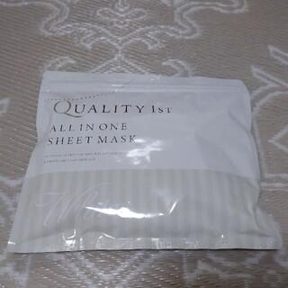 QUALITY FIRST - クオリティファースト オールインワンシートマスク ホワイト(30枚入)