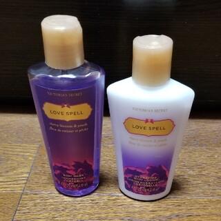 Victoria's Secret - ヴィクトリアシークレット☆ラブスペル☆ボディローション & ボディウォッシュ