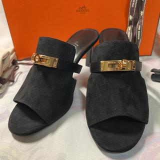 Hermes - 未使用品★HERMES★キュート ケリーサンダル21AW 36 正規店購入品