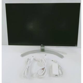 【美品】LG モニター ディスプレイ 27UD68-W 27インチ/4K(ディスプレイ)