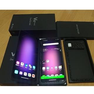 LG Electronics - SIMフリー LG V60 thinq A001LG クラッシーブルー