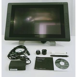 【美品】ワコム 液タブ 21.5インチ タッチ機能搭載  DTH-2200/K1(PC周辺機器)
