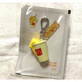 BTS マクドナルド 3Dキーリング ソーダ