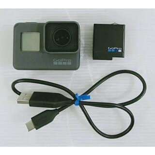 【良品】 GoPro ウェアラブルカメラ HERO5  CHDHX-501-JP(ビデオカメラ)