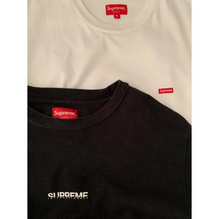 Supreme - supremeシュプリームBOXロゴNYモーションTシャツ2枚セットジャンク品