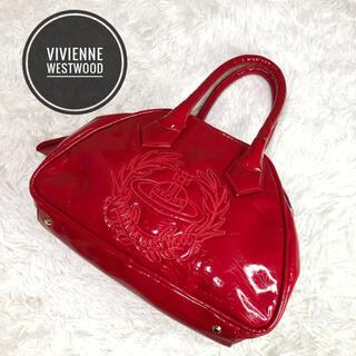 Vivienne Westwood - 極美品 ヴィヴィアン シワ加工 オーブ ハンドバッグ ミニボストン ヤスミン