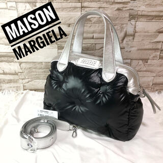 Maison Martin Margiela - 極美品 マルジェラ 4ステッチ グラムスラム 2way バイカラー ハンドバッグ