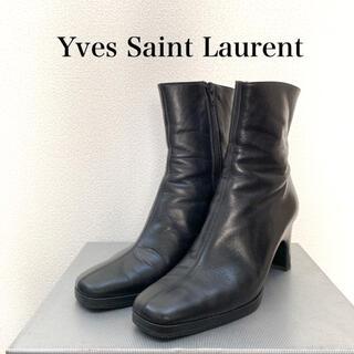 サンローラン(Saint Laurent)のYves Saint Laurent REGAL社製ショートブーツ ヴィンテージ(ブーツ)