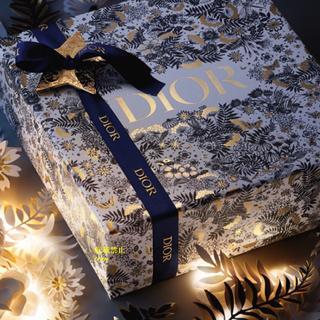 ディオール(Dior)のDior ディオール 2021 ホリデー クリスマス 箱 ギフトボックス(ラッピング/包装)