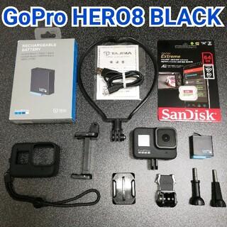 GoPro - 【美品セット】GoPro HERO8 BLACK✨新品MicroSD付