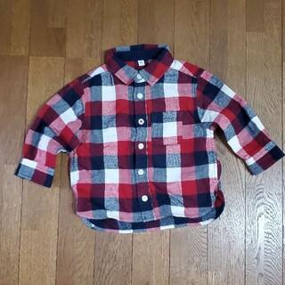 ムジルシリョウヒン(MUJI (無印良品))の無印良品 チェックシャツ(シャツ/カットソー)