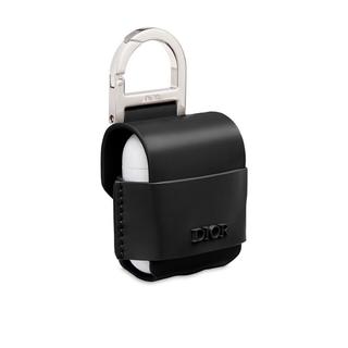 Christian Dior - 【未使用☆新品】DIOR AirPods Leather Case Black