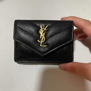 サンローラン(Saint Laurent)のSaint Laurent サンローラン 折りたたみ 財布(折り財布)