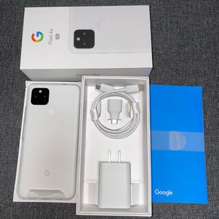 Google Pixel - 【未使用】 Google Pixel4a (5G) 128GB ホワイト