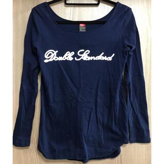 ダブルスタンダードクロージング(DOUBLE STANDARD CLOTHING)のダブルスタンダード✨ロンT✨トップス(Tシャツ(長袖/七分))