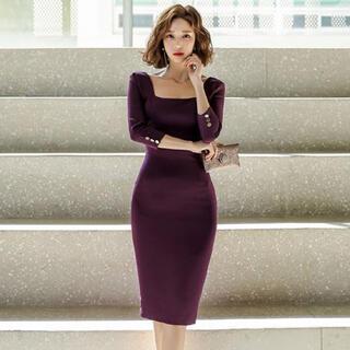 【本日限定セール】andyジャンル♡韓国ファッション エレガントキャバドレス