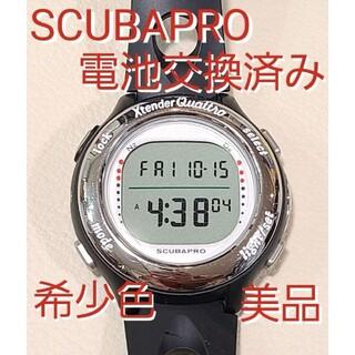 スキューバプロ(SCUBAPRO)の美品 スキューバプロ エクステンダー クワトロ ダイビング ダイブコンピューター(マリン/スイミング)