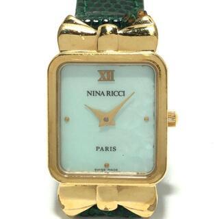 NINA RICCI - ニナリッチ 腕時計 - D950 レディース
